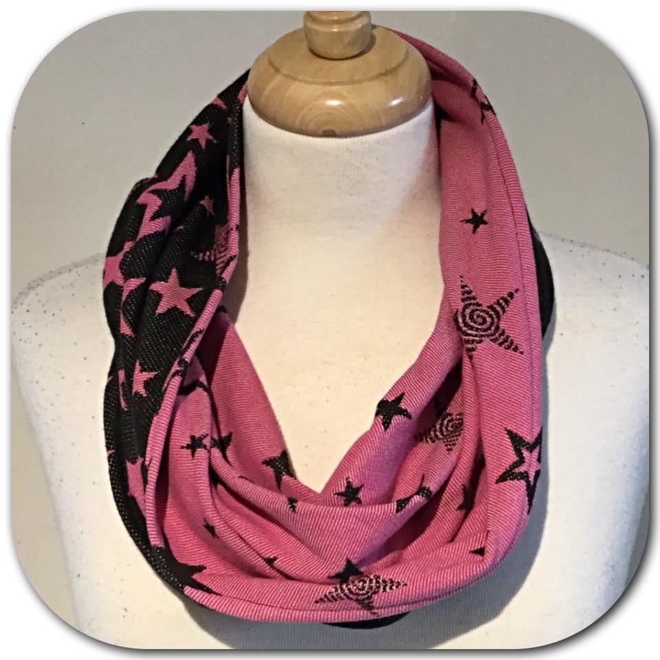 Kokadi pink stars cowl 85cm