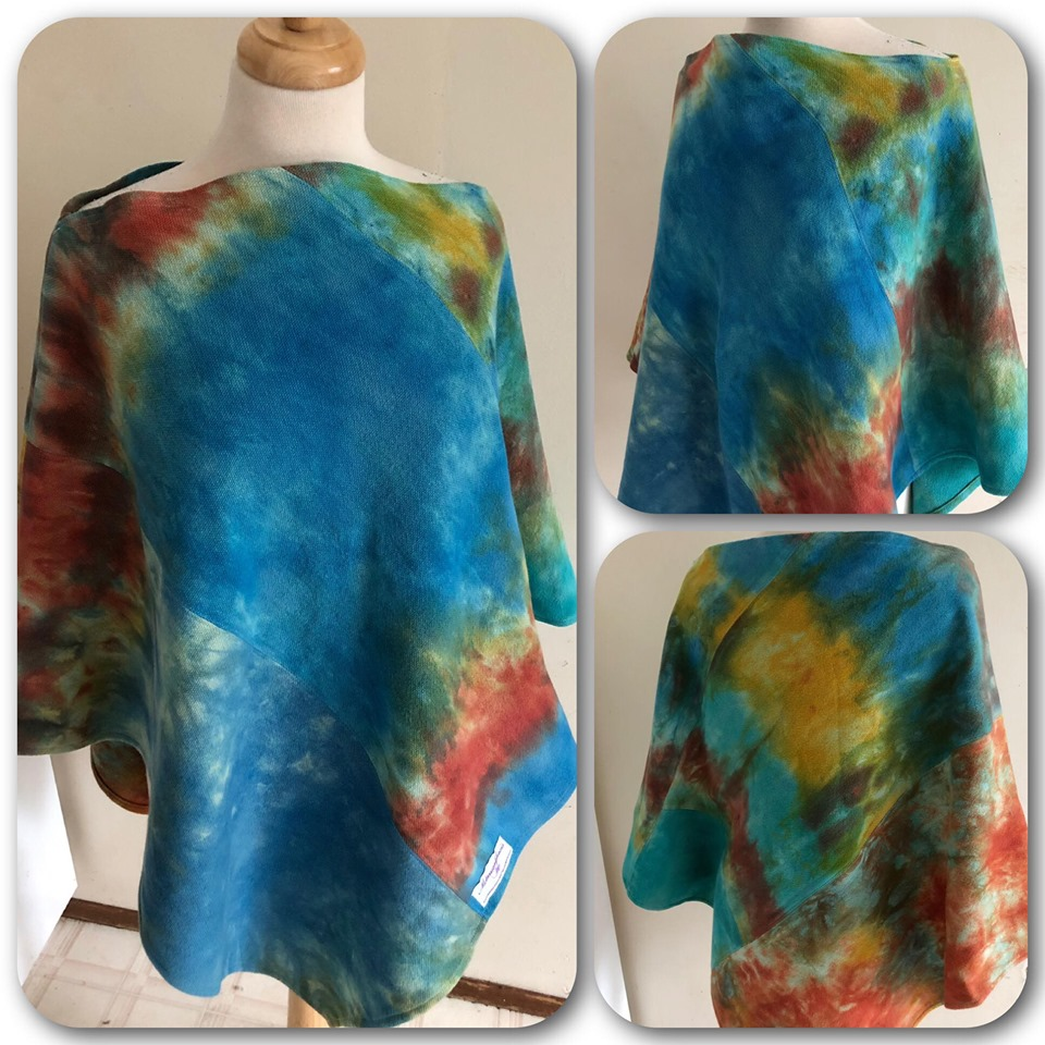 Hand Dyed Poncho